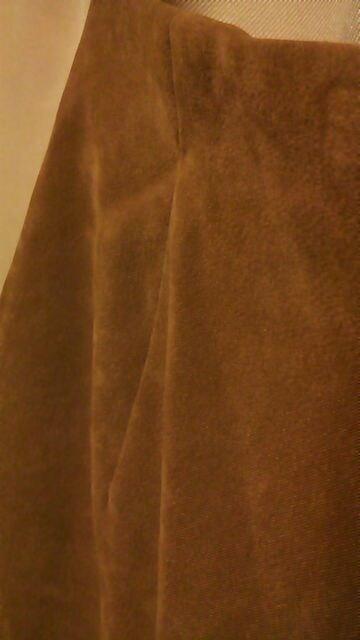 秋冬sexyスリットスカートキャメル系ブラウンW64 < 女性ファッションの