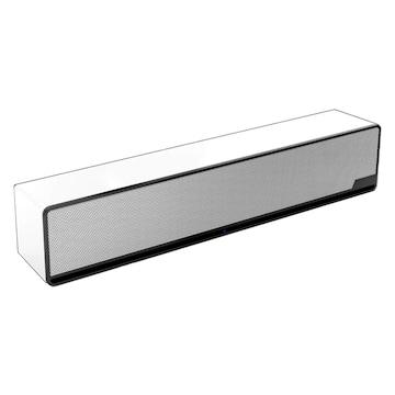 スピーカー 2.1ch スマホ TV 3D音響 WHITE