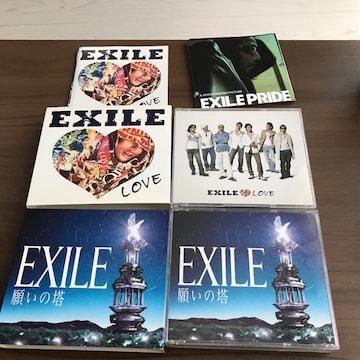 アルバム2枚セット願いの塔EXILE初回限定CD+2DVDオカザイルLOVE
