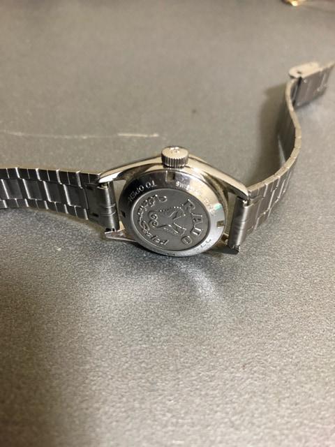 1スタ 超オススメ☆ RADO シルバー 高級腕時計