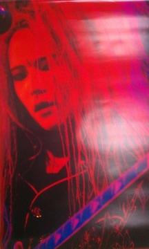 X JAPAN hide ポスター ヒデ HIDE OUR PSYCHOMMUNITY 1994