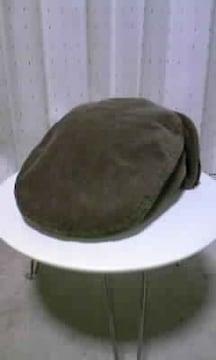 古着 ムチャチャ コーデュロイ×ボア ハンチング 帽子 Sサイズ 茶 ブラウン ヴィンテージ