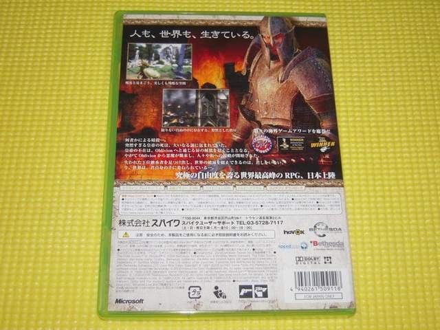 xbox360★The Elder Scrolls 4 OBLIVION オブリビオン < ゲーム本体/ソフトの