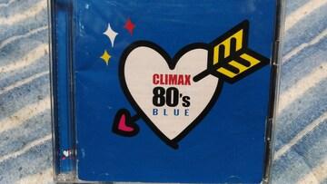 CLIMAX 80`s BLUE 2枚組邦楽オムニバス チェッカーズ.浜田省吾.YMO.杏里他