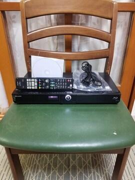 格安!新品同様完動美品!W録!3D1TB外付HDDシャープBD-W1200