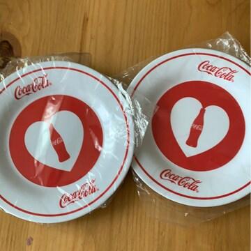 コカコーラ メラミンプレート 2枚