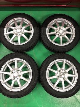 0082851)スポ-クホイ-ル国産スタッドレスタイヤセット軽自動車155/65R14送料無料