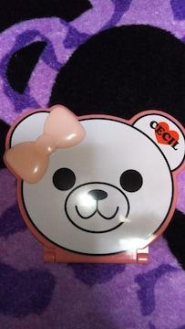 セール☆セシル☆可愛ぃベア型ミラー新品未使用☆