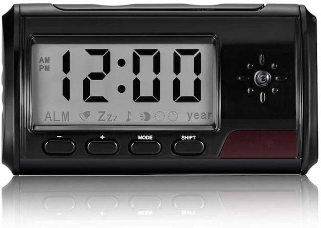 隠しカメラ 置き時計型 2020更新版 小型カメラ 動作検知  < 家電/AVの