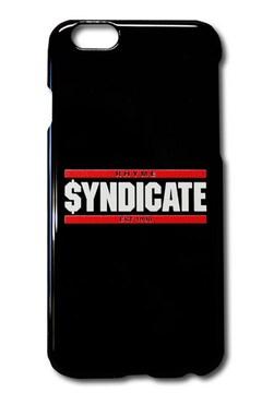 RhymeSyndicate★i-phone6ケース★ロゴ★黒