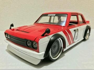 Jadaジェイダ/'73 Datsunダットサン 510 1/24 510ブル