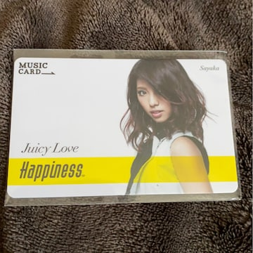 Happiness☆SAYAKA☆MCカード(^∇^)