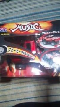MUSIC 【MP3 】PLAYER 赤