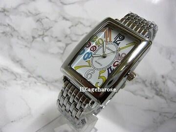 新品★腕時計 マルチ シルバー/フランクミュラー好きに