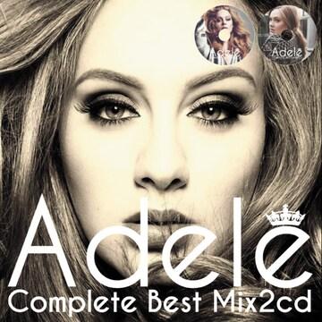 Adele アデル 豪華2枚組40曲 完全網羅 最強 Best MixCD