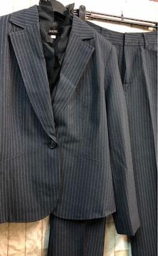 新品☆9号パンツスーツ2WAY!取り外しフリル付き☆b865