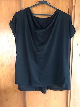 美品 ブージュルード 半袖カットソー レディース  黒
