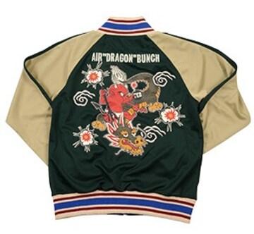 テッドマン/トラックジャケット/緑/tjs-2900/エフ商会/カミナリモータース